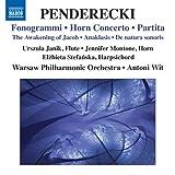 ペンデレツキ:フォノグラミ・ホルン協奏曲 他