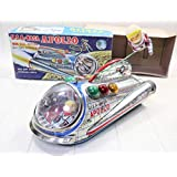 k240 増田屋 MASUDAマスダヤ NASA APOLO アポロ ノンホール ロケット 電池 スペース 宇宙船 ソフビ ブリキ 昭和レトロ 当時物