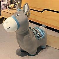 コバ ぬいぐるみ 小さなコバ 可愛いコバ 子供のおもちゃプレゼント 誕生日 店飾り 縫いぐるみ (グレー, 55cm)