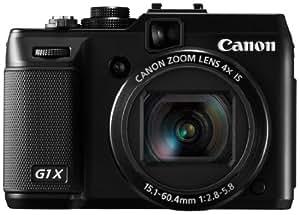 Canon デジタルカメラ PowerShot G1X 1.5型高感度CMOSセンサー 3.0型バリアングル液晶 ブラック PSG1X