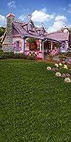 GladsBuyかわいい家10' x 20'コンピュータ印刷写真バックドロップアウトドア建築テーマ背景lmg-405