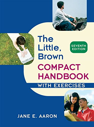 Download Little, Brown Compact Handbook with Exercises 0205651704