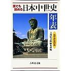 誰でも読める日本中世史年表 ふりがな付き