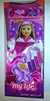 My Life Slumber Party Set Sleeping Bag for 18 Dolls Pink Butterfly Set