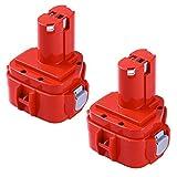 Boetpcr 2個セット Makitaマキタ 12V 3.0Ah互換バッテリー PA12 1250 1235 1235B 1235F 1234 1233 1222 1220 1202対応 ニッケル水素バッテリー 1年保証
