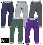 ROKX ロックス SWEAT PANT チロリアンテープ スエットパンツ スウェットパンツ ロング パンツ 5PURPLE|S