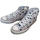 [コンバース] converse ALL STAR 100 MANYPATCH HI オールスター 100 メニーパッチ HI ホワイト メンズ/レディース 限定モデル (27.5cm(9))