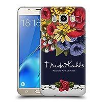 Official Frida Kahlo ブルーム レッド・フローラル ハードバックケース Samsung Galaxy J5 (2016)