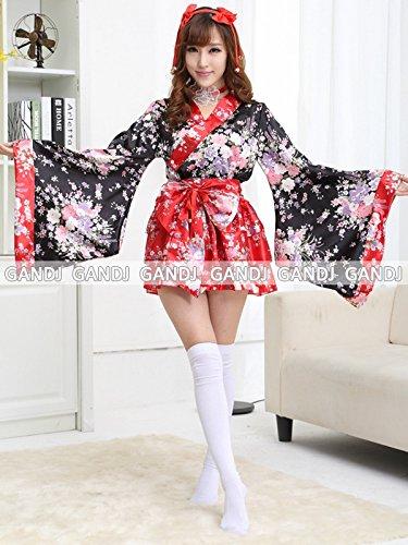 豪華 花魁 浴衣 着物ドレス 花魁ドレス 和服コスプレ コス...