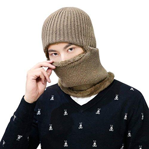 目だし帽 フェイスマスク メンズ ニット帽 キャップ ネック...