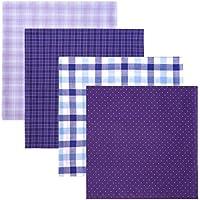 Retreez 8 Piece Pure Cotton Assorted Men's Handkerchiefs Hanky Gift Box Set