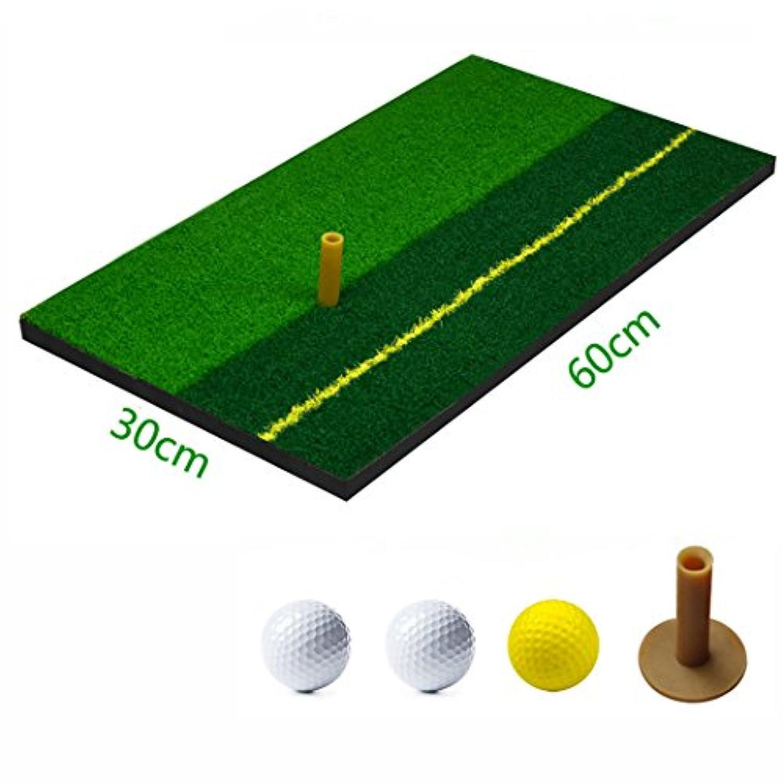 Voodans ゴルフ ショットマット ティー?ボールセット