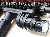 【ストロボ点滅機能搭載!】M93タイプQDマウント装備【SUREFIREタイプ】M900V バーティカルグリップライトレプリカ (SUREFIRE立体刻印)/ ブラック
