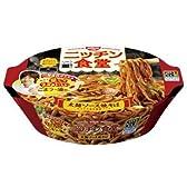 日清 ニッチン食堂 太麺ソース焼そば 110g×12個