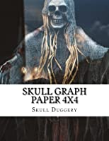 Skull Graph Paper 4x4