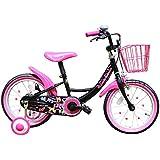 GRAPHIS(グラフィス) 補助輪付き子ども用自転車 16インチ リボンカラー GR-16R