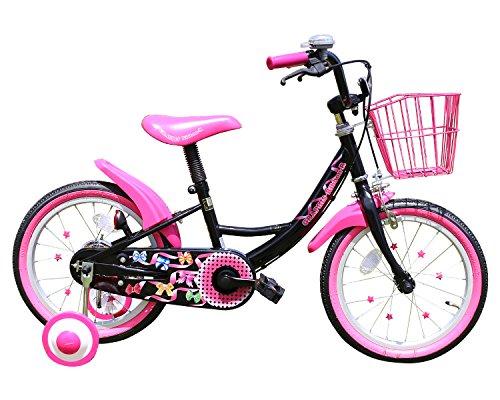 GRAPHIS(グラフィス) 補助輪付き子供用自転車 16イン...