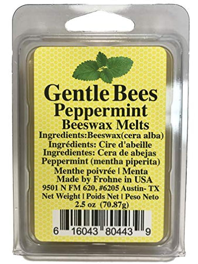 判定生じる賢いジェントルミツバチペパーミント蜜蝋キャンドル融