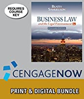 Bundle: Business Law and the Legal Environment Standard Edition 6th + CengageNOW? 2 terms Printed Access Card [並行輸入品]
