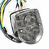 5202 モンキー DAX シャリー カブ 補助 ウインカー ディライト付 スモークレンズ LED テールランプ ライト