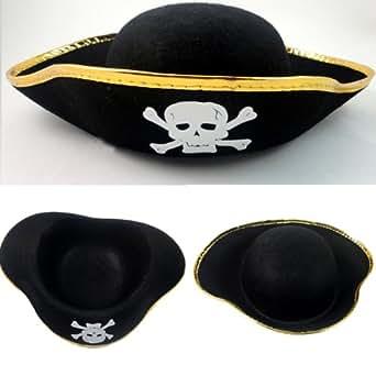 海賊 ハット コスチューム用小物 ゴールド フリーサイズ