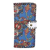 QinKingstore レディース財布雲南麗江ヴィンテージ刺繍入り財布手作りスレッディングカードバッグ財布
