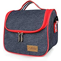 imeetuランチバッグ クーラーバッグ トートバッグ お弁当袋 弁当バッグ ショルダーバッグ 収納バッグ 保冷保温 軽量 大容量(style 4)