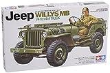 タミヤ 1/35 ミリタリーミニチュアシリーズ No.219 アメリカ陸軍 U.S.ジープ ウイリスMB プラモデル 35219