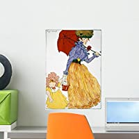 Wallmonkeys WM69606 To the Square by Henri Evenepoel Peel and Stick Wall Decals (18 in H x 13 in W) by Wallmonkeys Wall Decals