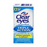 Clear Eyes Contact Lens Relief Soothing Drops, 0.5 fl oz (15 ml) by Clear Eyes