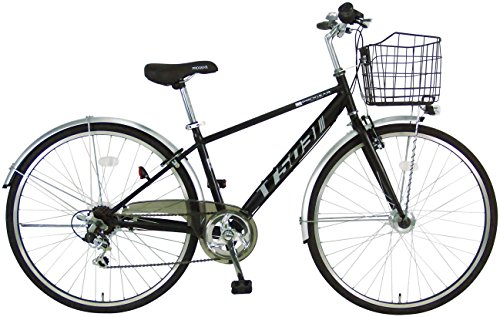 C.Dream(シードリーム) ビジネスクロス BX50 クロスバイク ブラック 6段変速 100%組立済み発送