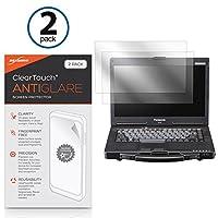 Panasonic Toughbook 53cf-53ClearTouchアンチグレア( 2- Pack )とClearTouchクリスタル2パック–プレミアム品質スクリーンガードシールドにを傷–Chooseアンチグレア、またはクリスタルクリア bw-862-12920-0
