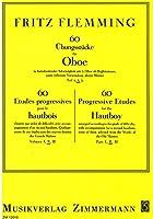 フレミング : 60の練習曲 第二巻 (オーボエ教則本) ツィマーマン出版