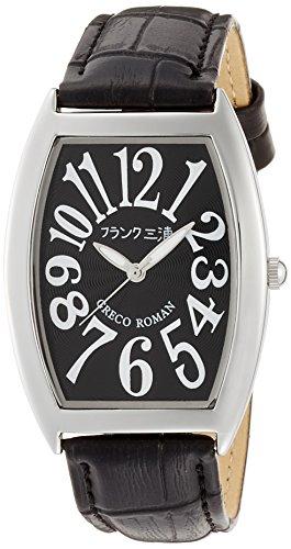 [フランク三浦]MIURA 零号機(改) グレコローマン400戦無敗記念モデル 完全非防水 腕時計 ジャパンクオーツ FM00K-B  腕時計