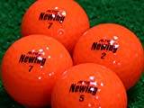 【Aランク】【ロゴなし】Newing(ニューイング) ビビッドニューイング ビビッドオレンジ 20個セット【ロストボール】