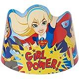 Dc Super Hero Girls Paper Tiara 8ct [contains 3 Manufacturer Retail Unit(s) Per
