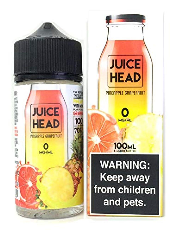 幸運な通路酸化するSTREAMLINE JUICE HEAD 電子タバコリキッド100ml PINAPPLE GRAPEFRUIT(パイナップルグレープフルーツ)