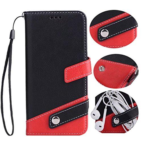 iphone6s Plus レザー 手帳型 ケース マルチ カラー Diary case カード収納...
