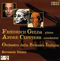 Piano Concerto.4: Gulda / Cluytens / スイス・イタリア語放送.o Franck