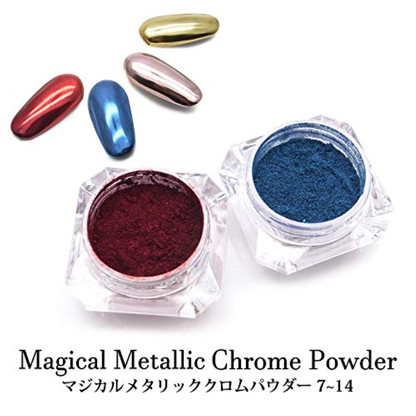 放つ塊電化するマジカル メタリック クロムパウダー 全14色 ケース入り 7~14 (13.ブロンズゴールド)