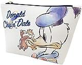 ティーズ パレット柄三角ポーチ ドナルド&チップ&デール DN-5570202DC