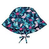 I play(アイプレイ) 帽子 プリントハット UVカット あごひも付 ベビー キッズ 帽子 Navy Flamingos INFANT:9-18ヵ月 747161-647-52