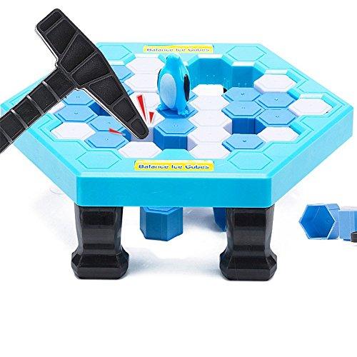 HIOTECHペンギントラップゲーム保存ペンギンIcebreaker Beating Interactiveデスクトップパーティーゲームfor Kids知的開発