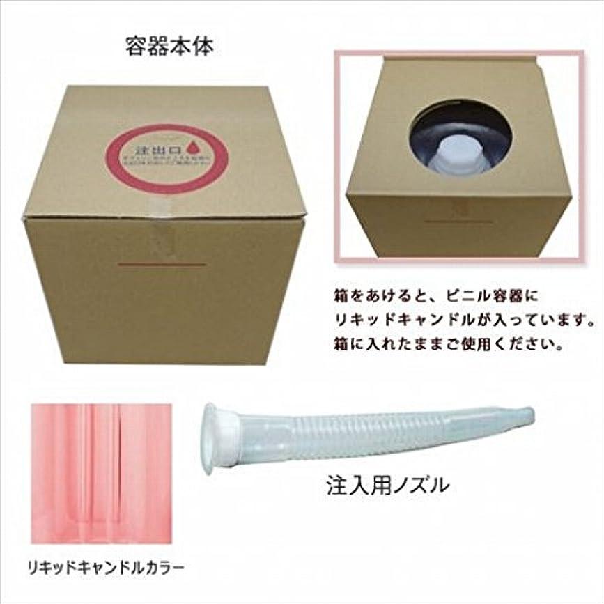 消費する性的歩道カメヤマキャンドル(kameyama candle) リキッドキャンドル5リットル 「 ピンク 」