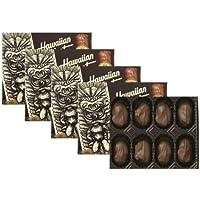 【ハワイお土産】ハワイアンホスト4ozマカダミアナッツチョコレート8粒【5箱】