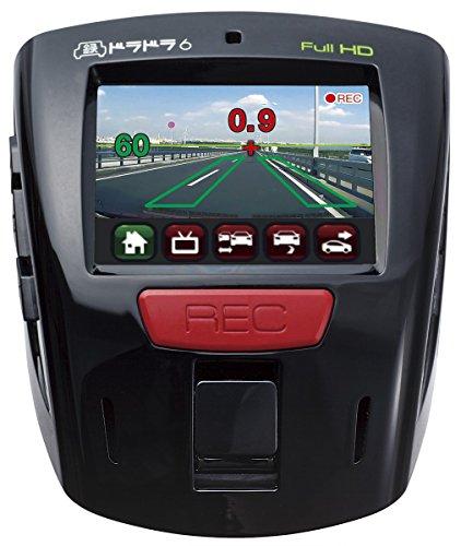 安全運転支援機能付きドライブレコーダードラドラ6