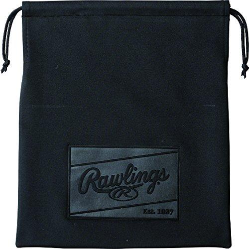 Rawlings(ローリングス)グラブ袋エンボスマーク EAC5F01 ブラック/ブラック 40x34.5cm