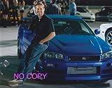 大きな写真「ワイルド・スピード」ポール・ウォーカーとGTR