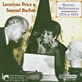 Library of Congress 19: Price & Barber by Leontyne Price (2013-05-03)