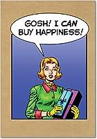 Buy Happinessクリスマスユーモア用紙カード 12 Christmas Card Pack (SKU:B1966)